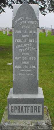 SPRATFORD, CHARLOTTE - Boone County, Iowa   CHARLOTTE SPRATFORD