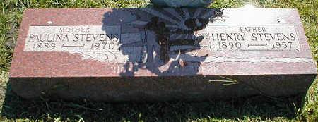 STEVENS, HENRY - Boone County, Iowa   HENRY STEVENS