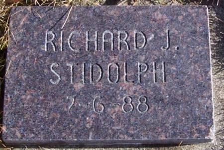 STIDOLPH, RICHARD J. - Boone County, Iowa | RICHARD J. STIDOLPH