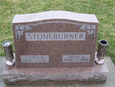 STONEBURNER, ARCHIE R. - Boone County, Iowa | ARCHIE R. STONEBURNER