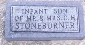 STONEBURNER, INFANT SON - Boone County, Iowa | INFANT SON STONEBURNER