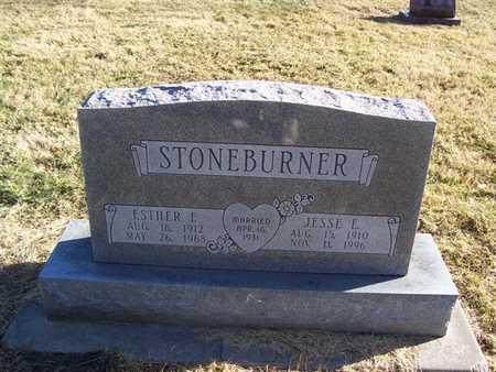 STONEBURNER, ESTHER E. - Boone County, Iowa | ESTHER E. STONEBURNER