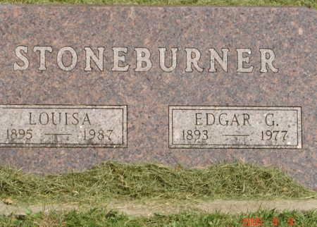 STONEBURNER, LOUISA - Boone County, Iowa | LOUISA STONEBURNER
