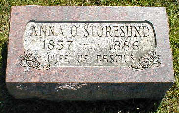 STORESUND, ANNA O. - Boone County, Iowa | ANNA O. STORESUND