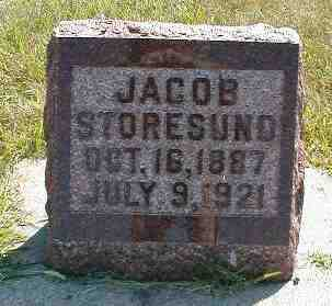 STORESUND, JACOB - Boone County, Iowa | JACOB STORESUND
