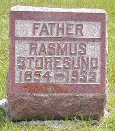 STORESUND, RASMUS - Boone County, Iowa   RASMUS STORESUND