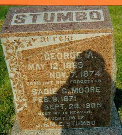 MOORE STUMBO, SADIE G. - Boone County, Iowa | SADIE G. MOORE STUMBO
