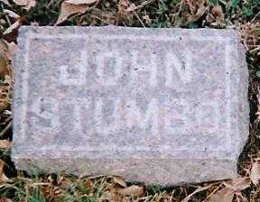 STUMBO, JOHN - Boone County, Iowa   JOHN STUMBO