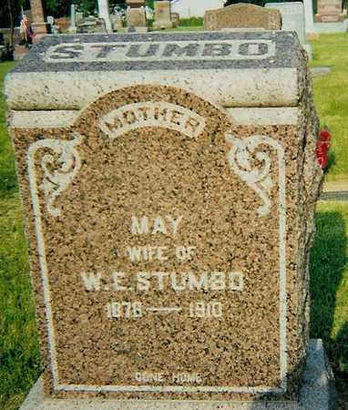 STUMBO, MAY - Boone County, Iowa   MAY STUMBO