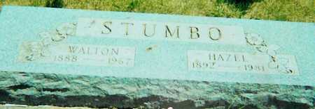 STUMBO, WALTON - Boone County, Iowa | WALTON STUMBO