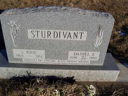 STURDIVANT, DANIEL E. - Boone County, Iowa | DANIEL E. STURDIVANT