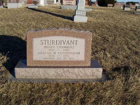 CUNNINGHAM STURDIVANT, DEANNA M. - Boone County, Iowa | DEANNA M. CUNNINGHAM STURDIVANT