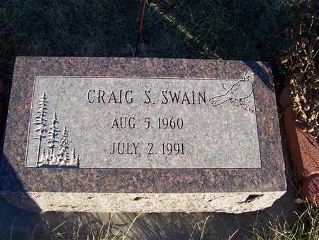 SWAIN, CRAIG S. - Boone County, Iowa   CRAIG S. SWAIN