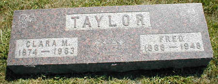 TAYLOR, FRED - Boone County, Iowa | FRED TAYLOR