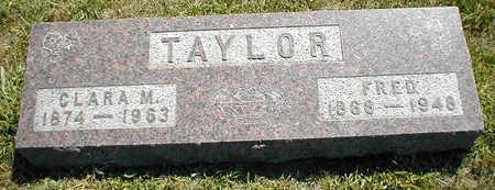 TAYLOR, CLARA M. - Boone County, Iowa | CLARA M. TAYLOR