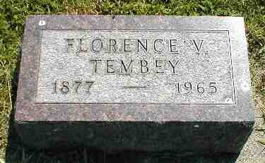 TEMBEY, FLORENCE V. - Boone County, Iowa | FLORENCE V. TEMBEY