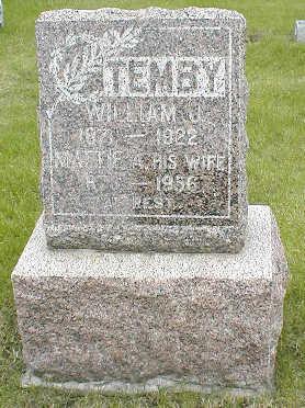 TEMBY, WILLIAM J. - Boone County, Iowa | WILLIAM J. TEMBY