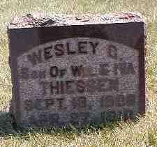 THIESSEN, WESLEY C. - Boone County, Iowa   WESLEY C. THIESSEN