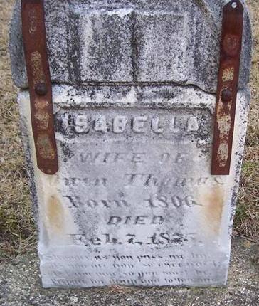 THOMAS, ISABELLA - Boone County, Iowa | ISABELLA THOMAS