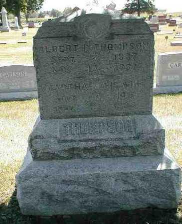 THOMPSON, ALBERT P. - Boone County, Iowa | ALBERT P. THOMPSON