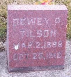 TILSON, DEWEY P. - Boone County, Iowa | DEWEY P. TILSON