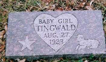 TINGWALD, BABY GIRL - Boone County, Iowa   BABY GIRL TINGWALD
