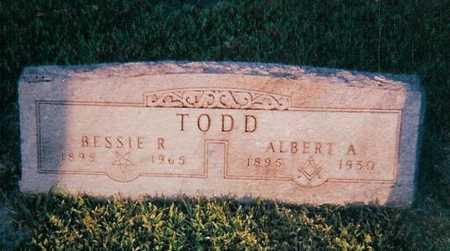 TODD, BESSIE - Boone County, Iowa | BESSIE TODD