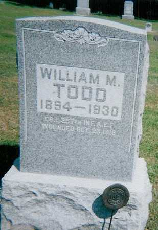TODD, WILLIAM - Boone County, Iowa | WILLIAM TODD