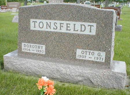 TONSFELDT, OTTO G. - Boone County, Iowa | OTTO G. TONSFELDT