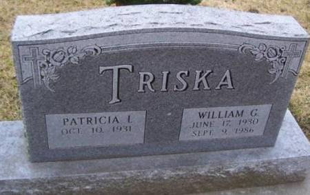 TRISKA, WILLIAM G. - Boone County, Iowa | WILLIAM G. TRISKA