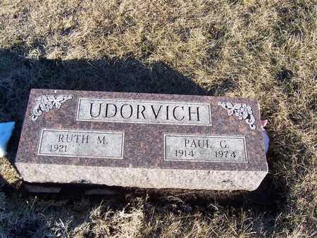 UDORVICH, RUTH M. - Boone County, Iowa | RUTH M. UDORVICH