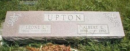 UPTON, LEONE L. - Boone County, Iowa | LEONE L. UPTON