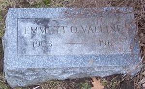 VALLINE, EMMETT O. - Boone County, Iowa | EMMETT O. VALLINE