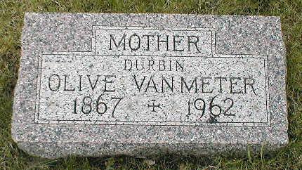 VAN METER, OLIVE - Boone County, Iowa | OLIVE VAN METER