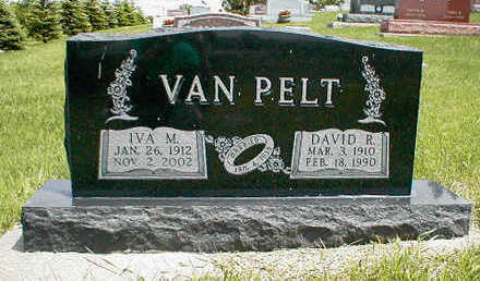VAN PELT, DAVID R. - Boone County, Iowa | DAVID R. VAN PELT