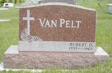 VAN PELT, ROBERT D. - Boone County, Iowa   ROBERT D. VAN PELT