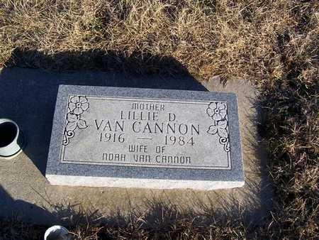 VANCANNON, LILLIE D. - Boone County, Iowa | LILLIE D. VANCANNON