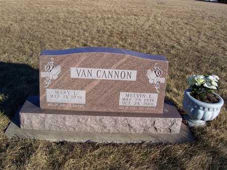 VANCANNON, MELVIN L. - Boone County, Iowa | MELVIN L. VANCANNON