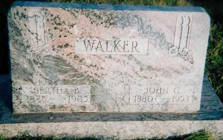 WALKER, JOHN C - Boone County, Iowa | JOHN C WALKER