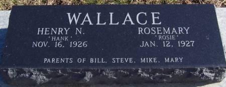 WALLACE, ROSEMARY