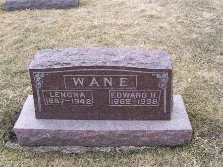 WANE, EDWARD H. - Boone County, Iowa | EDWARD H. WANE