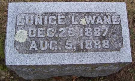 WANE, EUNICE L. - Boone County, Iowa | EUNICE L. WANE