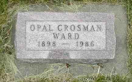 WARD, OPAL - Boone County, Iowa | OPAL WARD