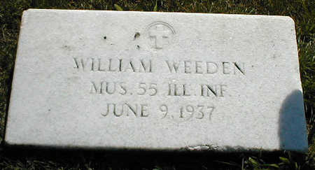 WEEDEN, WILLIAM - Boone County, Iowa | WILLIAM WEEDEN