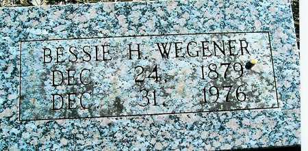 WEGENER, BESSIE H. - Boone County, Iowa | BESSIE H. WEGENER