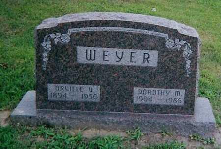 WEYER, ORVILLE W. - Boone County, Iowa | ORVILLE W. WEYER