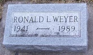 WEYER, RONALD L. - Boone County, Iowa | RONALD L. WEYER