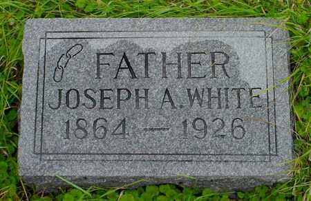 WHITE, JOSEPH A. - Boone County, Iowa   JOSEPH A. WHITE