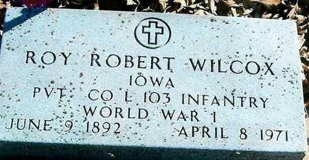 WILCOX, ROY ROBERT - Boone County, Iowa | ROY ROBERT WILCOX