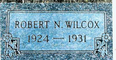 WILCOX, ROBERT N. - Boone County, Iowa   ROBERT N. WILCOX